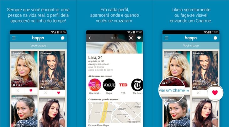 Happn para Windows Phone