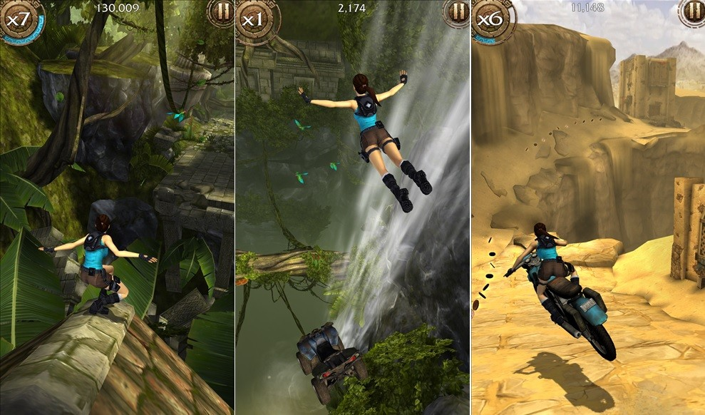 Descargar lara Croft Relic Run para WIndows Phone