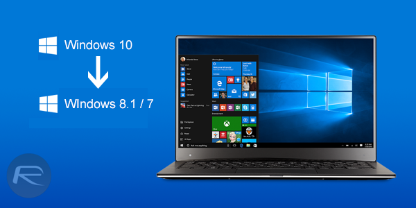 hacer Downgrade en Windows 10