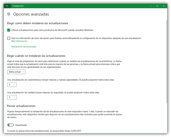 Cómo comprobar actualizaciones de Windows 10-1
